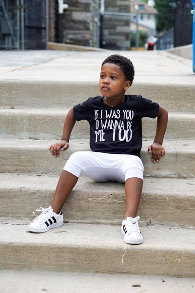 If I Was You I'd Wanna Be Me Too - short sleeve tee