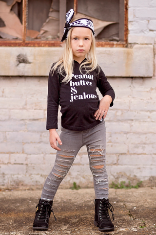 Peanut_Butter_Jealous_Long_Sleeve_Hooded_Trendy_Urban_Cool_Kids_Graphic_Tee