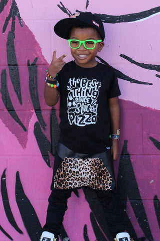 The_Best_Thing_Since_Sliced_Pizza_Cool_Gender_Neutral_Trendy_Kids_Graphic_Tee