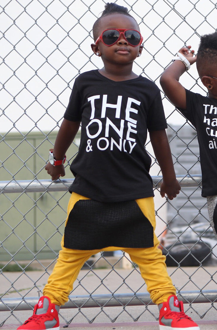 The_One_And_Only_Cool_Trendy_Urban_Kids_Graphic_Tee
