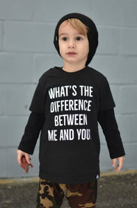 Whats_The_Difference_Between_Me_And_You_Dre_Dre_Trendy_Cool_Urban_Kids_Graphic_Tee