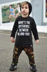 What's The Difference Between Me And You? - short sleeve tee