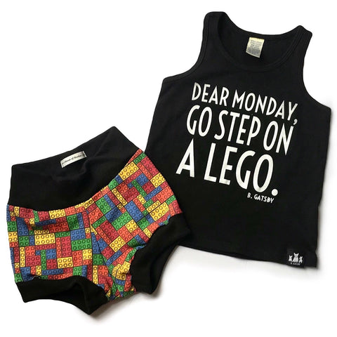 Dear Monday, Go Step On A Lego - tank top
