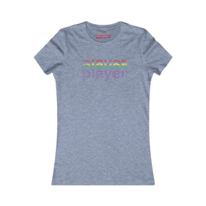Women's player tee