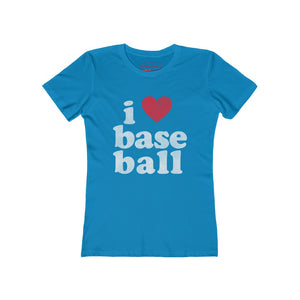 Women's I love baseball