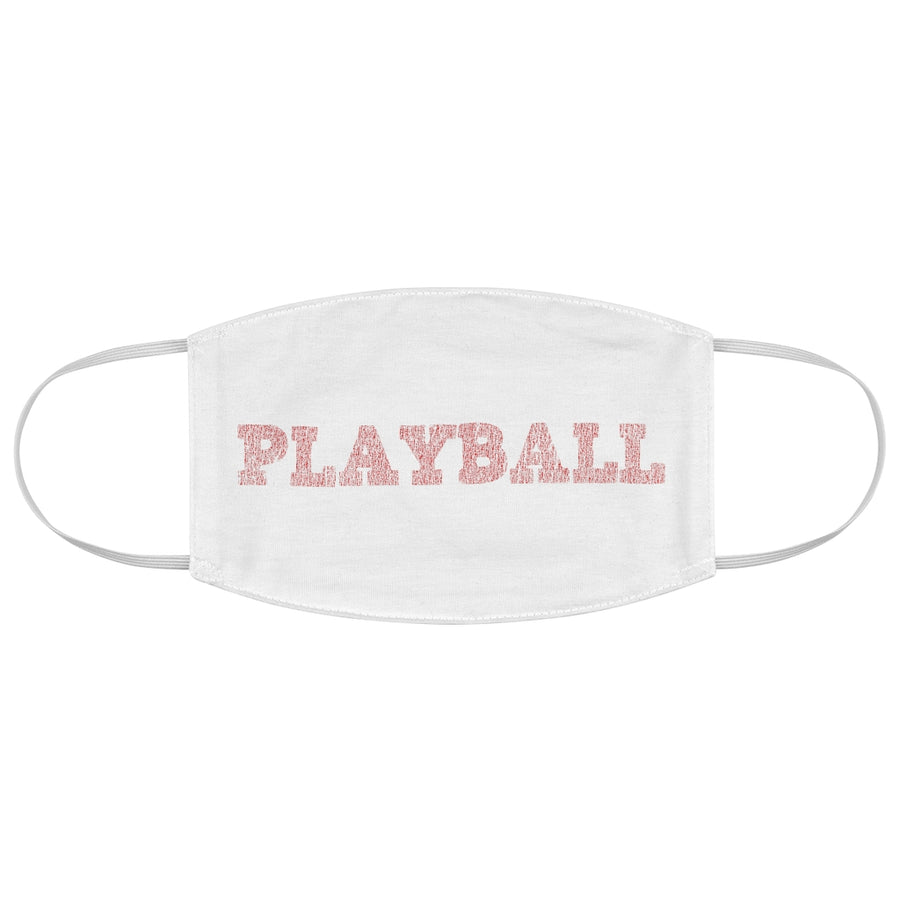 7th inning stretch playball face mask.