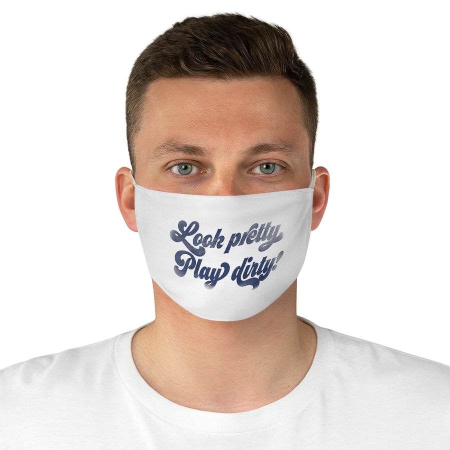 7th inning stretch look pretty face mask