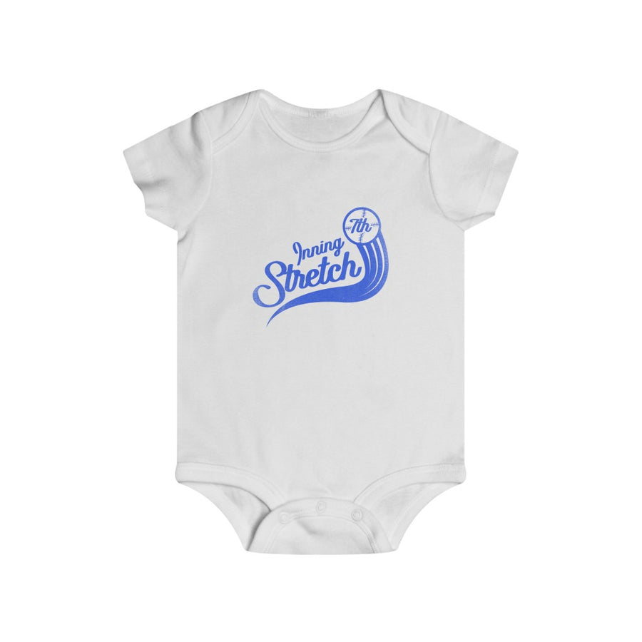 7th Inning Stretch Infant Rip Snap fly ball Tee