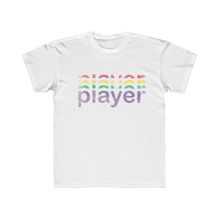 Kids player tee