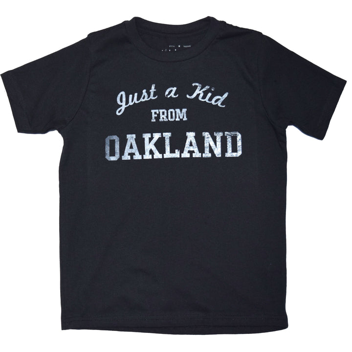 """Just a kid from Oakland"" - kids tees"