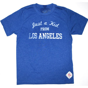 """Just a kid from Los Angeles"" - kids tees"