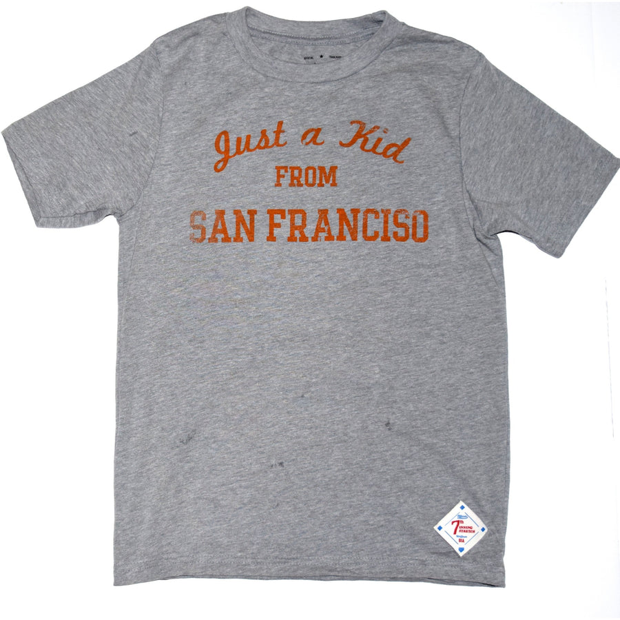 """Just a kid from San Francisco"" kids tee"
