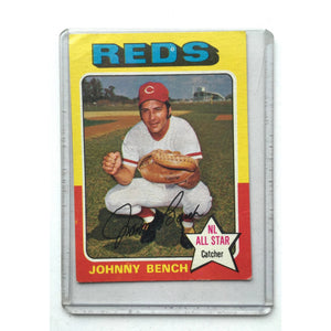 Johnny Bench Topps 1975