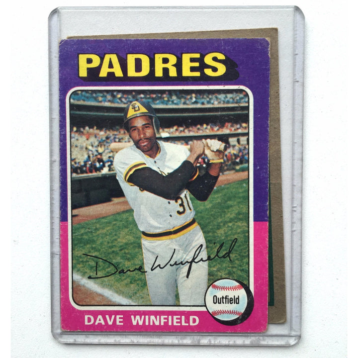 Dave Winfield 1975 topps