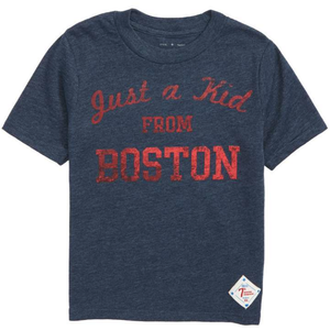 """Just a kid from Boston"" kids tee"