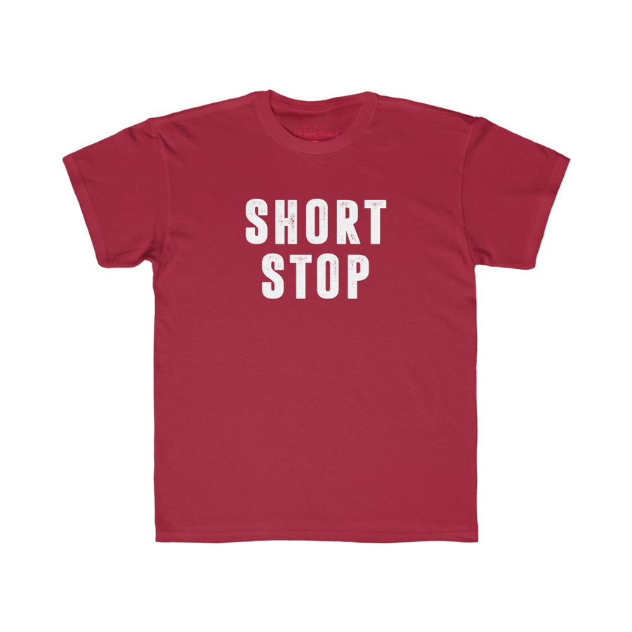 Kids short stop tshirt