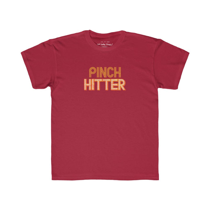 Kids Pinch hitter t-shirt