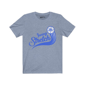 Mens 7th inning stretch fly ball tee
