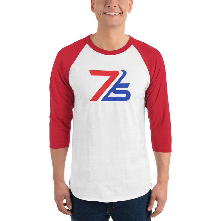 7IS 3/4 sleeve raglan shirt