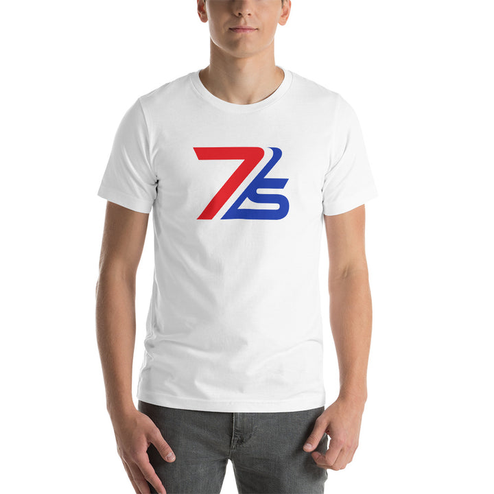 New 7IS vintage fashion logo tee