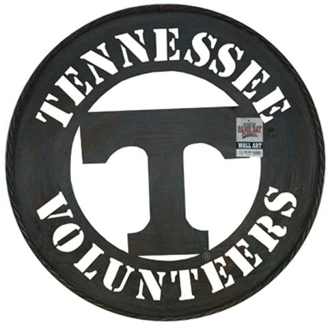 "Tennessee Vols 24"" Metal Wall Art"