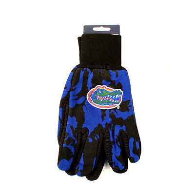 Florida Gator's Blue Camo Prints Men's Cotton Gloves