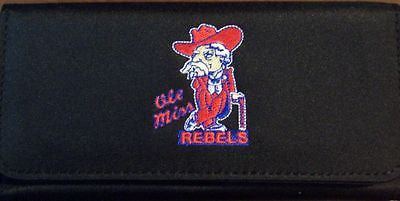 Mississippi Ole Miss Rebels Embroidered Ladies Wallet/Checkbook