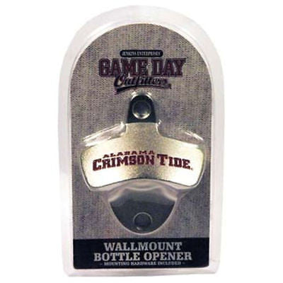 Alabama Crimson Tide Wall Mount Bottle Opener