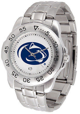Penn State Men's Sports Stainless Steel Watch