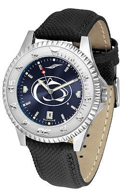 Penn State Men's Competitor AnoChrome Leather Band Watch