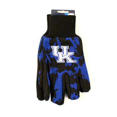 Kentucky Wildcats Camo Gloves