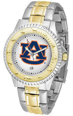 Auburn Tigers Competitor Two Tone Stainless Steel Men's Watch