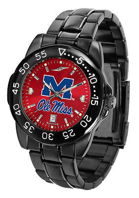 Mississippi Ole Miss Rebels Men's Fantom Sport  AnoChrome Watch