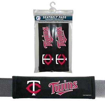 Minnesota Twins Seat Belt Pads