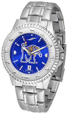 Memphis Tigers Men's Competitor Stainless Steel AnoChrome Watch