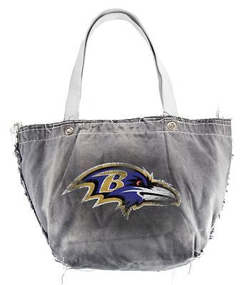 Baltimore Ravens Hand Distressed Vintage Tote