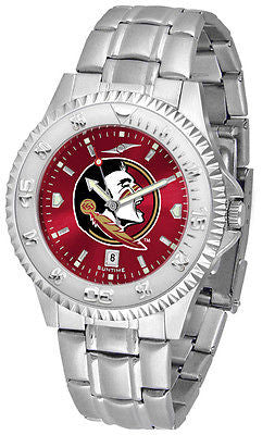 Florida State Seminoles Men's Competitor Stainless Steel AnoChrome Watch