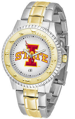 Iowa State Cyclones Competitor Two Tone Stainless Steel Men's Watch