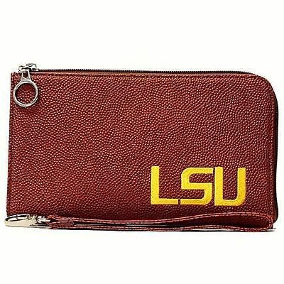 LSU Tigers Women's Embroidered Wristlet Wallet
