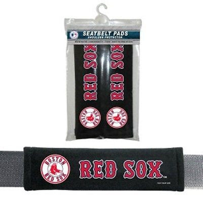 Boston Red Sox Padded Seat Belt Pads