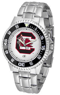 South Carolina Gamecocks Men's Competitor Stainless AnoChrome with Color Bezel