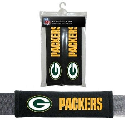 Green Bay Packers Seat Belt Pads