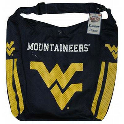 West Virginia Mountaineers Jersey Purse