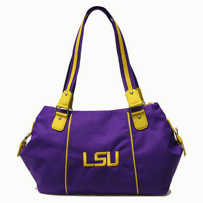 LSU Tigers Embroidered Purse