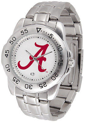 Alabama Men's Sports Stainless Steel Watch