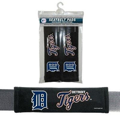 Detroit Tigers MLB Team Padded Seat Belt Pads
