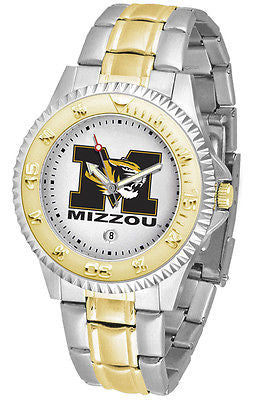 Missouri Tigers Competitor Two Tone Stainless Steel Men's Watch