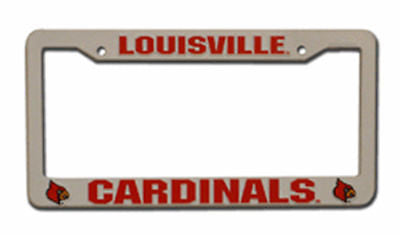 Louisville Cardinals Plastic Auto Tag Frame