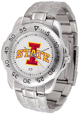 Iowa State Cyclones Men's Sports Stainless Steel Watch