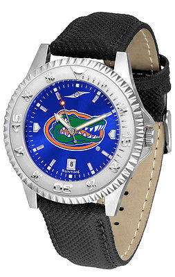 Florida Gators Men's Competitor AnoChrome Leather Band Watch